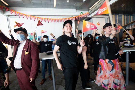 Oulun kulttuuripääkaupunkivoiton juhlintaa